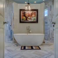 Quelle est la hauteur pour une baignoire?